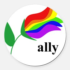 ally_flower_round_car_magnet